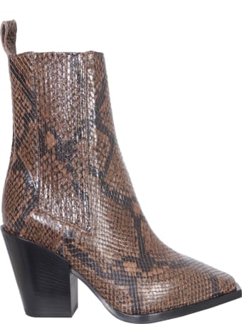 aeyde Leather Boots