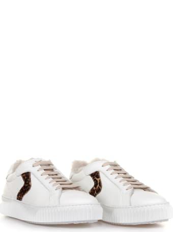 Voile Blanche Sneakers Lipari Fur Animalier