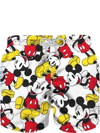 MC2 Saint Barth Mickey Mouse Disney© Boy Swim Trunks