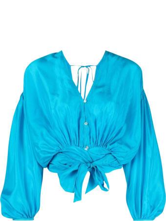 Forte_Forte Habotai Silk Bohemian Shirt