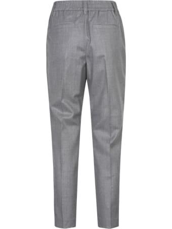 Brunello Cucinelli Rib Cropped Trousers