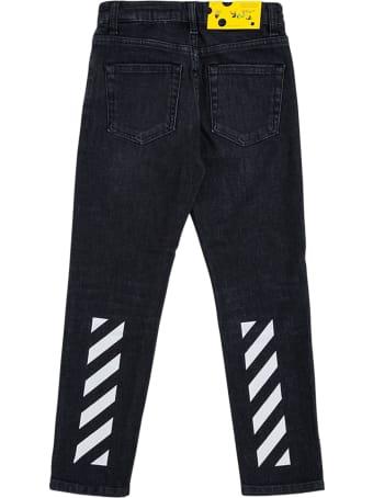 Off-White Slim Diags Denim Pant