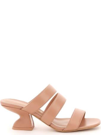 Salvatore Ferragamo Steffie 55 Leather Mules