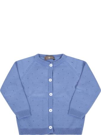 Little Bear Blue Cardigan For Baby Boy