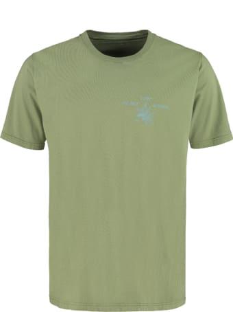 Universal Works Printed Cotton T-shirt