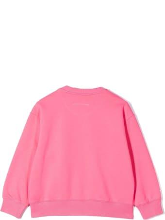 Maison Margiela Pink Cotton Sweatshirt