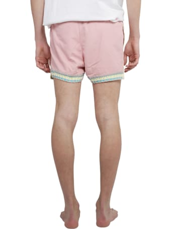 Mouty Pink Nomade Swim Trunks