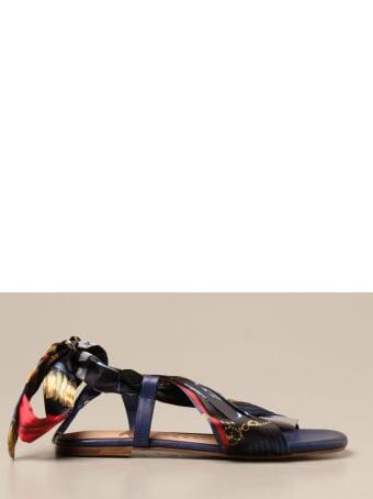 Hilfiger Denim Hilfiger Collection Flat Sandals Shoes Women Hilfiger Collection