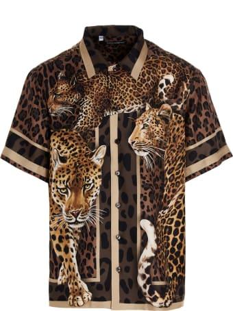 Dolce & Gabbana 'leopard' Shirt