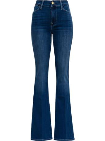 Frame Five  Pockets Flared Blue Denim Jeans