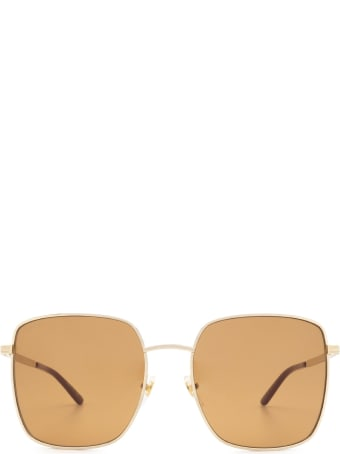 Gucci Gucci Gg0802s Gold Sunglasses