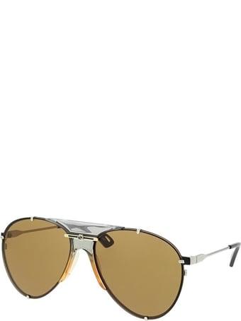 Gucci Gucci Gg0740s Silver Sunglasses