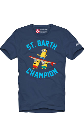 MC2 Saint Barth Boy's T-shirt Minions Champion
