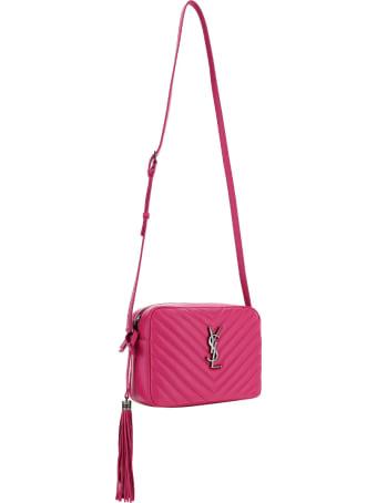 Saint Laurent Mng Lou Shoulder Bag