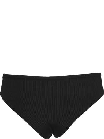 The Attico Attico Ribbed Bikini Bottoms