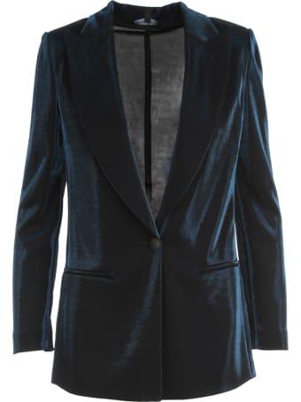 Emporio Armani Lurex One Button Jacket