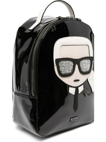 Karl Lagerfeld Kids Backpack With Applications