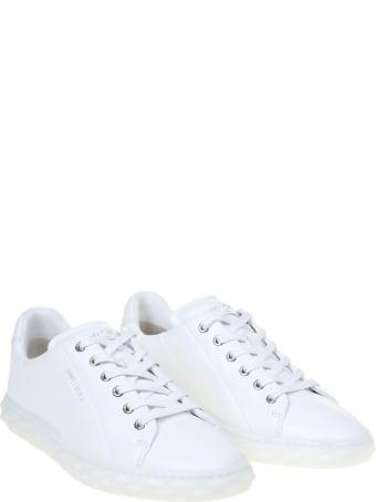 Jimmy Choo Diamond Light / F Sneakers In Nappa