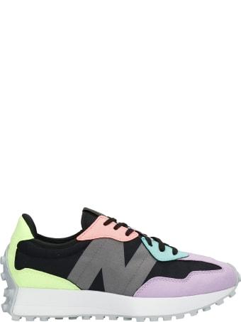 New Balance 327 Sneakers In Multicolor Nylon