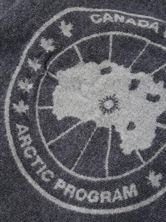 Canada Goose Logo Blanket Scarf