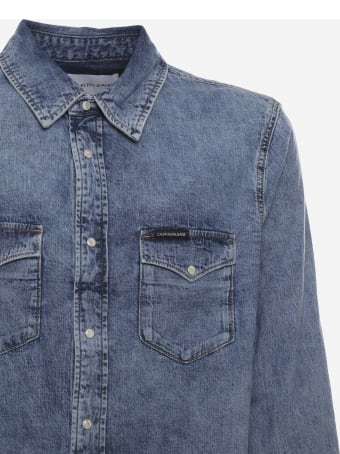 Calvin Klein Jeans Pure Cotton Denim Shirt