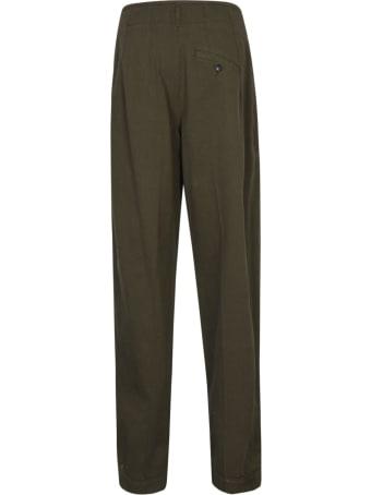 Etro Straight Leg Plain Corduroy Jeans