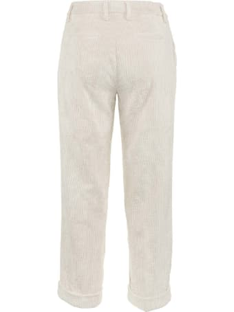 Re-HasH Cream White Nelly Trousers