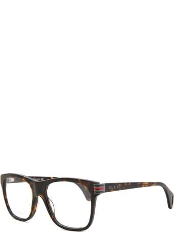 Gucci Gucci Gg0526o Dark Havana Glasses