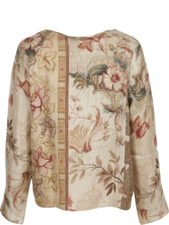 Pierre-Louis Mascia Silk Floral Top
