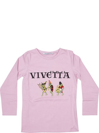 Vivetta Embroidered Logo Sweatshirt