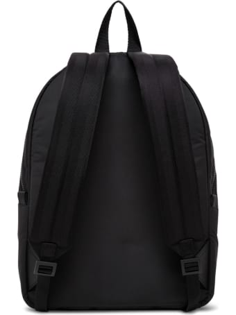 Alexander McQueen Metropolitan Graffiti Fabric Backpack With Logo