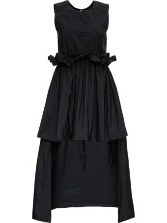 RED Valentino The Black Tag Taffetas Dress
