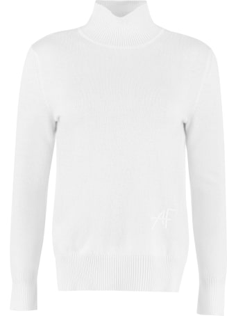 Alberta Ferretti Wool And Cachemire Turtleneck Pullover