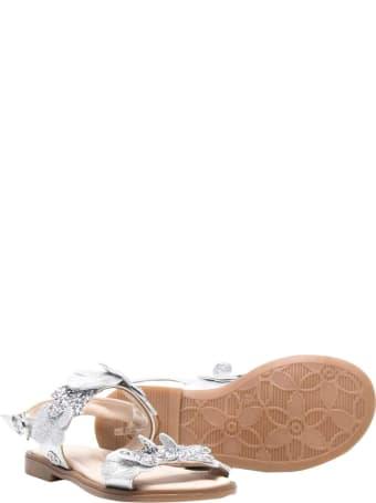 Florens Silver Sandals