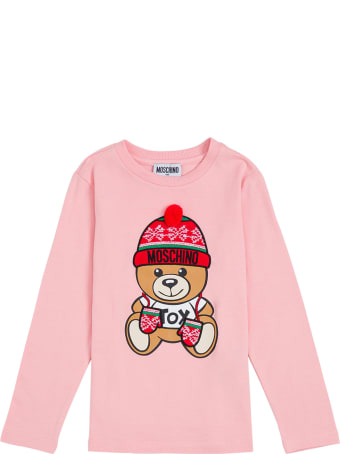 Moschino Shirt With Front Logo