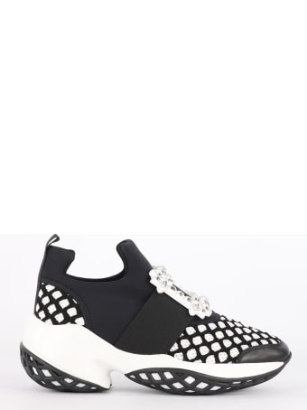 Roger Vivier Sneakers Viv' Run Strass Buckle