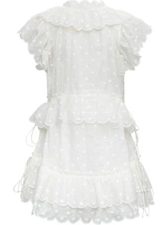 Zimmermann Mae Dot Ivory Colored Dress