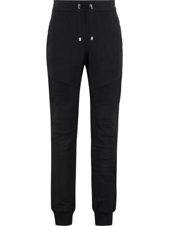 Balmain Stretch Cotton Track-pants