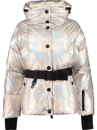 Moncler Grenoble Ollignan Iridescent Nylon Down Jacket