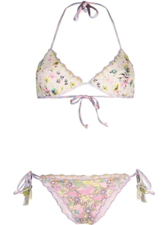 Anjuna Floral Reversible Bikini
