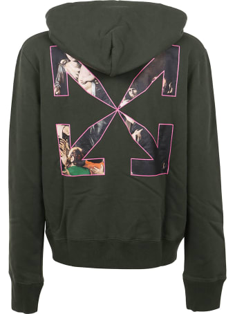 Off-White Sprayed Caravaggio Slim Hoodie