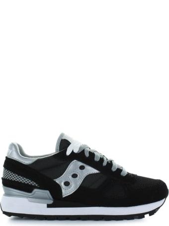 Saucony Shadow Original Black Silver Sneaker