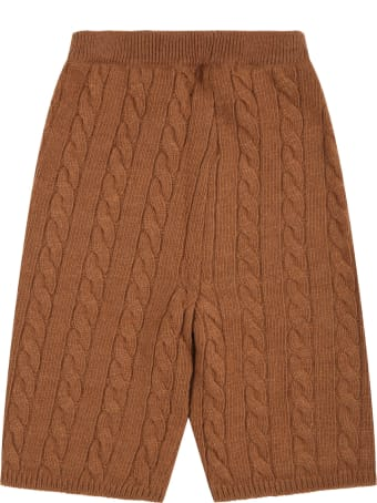 Blumarine Brown  Trouser For Baby Girl