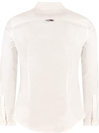 Tommy Jeans Button-down Cotton Shirt