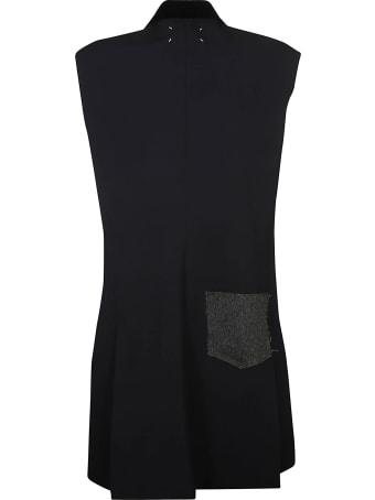 Maison Margiela Sleeveless Buttoned Coat