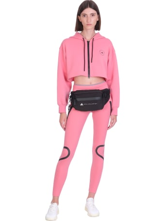 Adidas by Stella McCartney Sweatshirt In Rose-pink Cotton