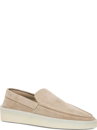 Fear of God Beige Suede Loafers