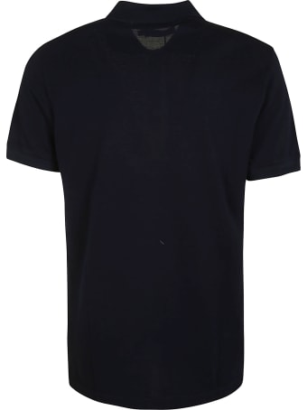 Dolce & Gabbana Bee & Crown Embroidered Polo Shirt