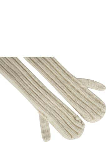 Sacai Plain Knit Gloves