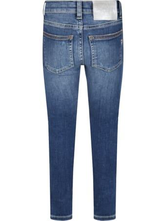 Dondup Light Blue ''appetite'' Jeans For Girl